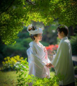 結婚記念写真撮影